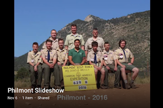 Philmont Scout Ranche Adventure Slide Show