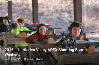 APEX 2016 Fall Shooting Sports Weekend